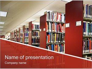 Шаблон презентации PowerPoint: Библиотека