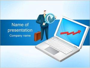 Шаблон презентации PowerPoint: Рост бизнеса и активов