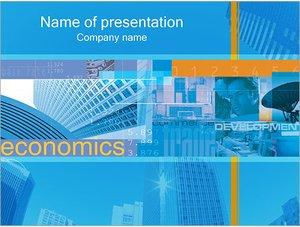 Шаблон презентации PowerPoint: Экономика