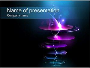 Шаблон презентации PowerPoint: Плоские кольца