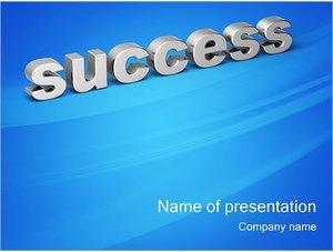 Шаблон презентации PowerPoint: Успех - success