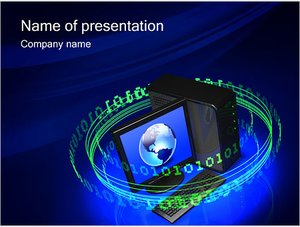 Шаблон презентации PowerPoint: Стационарный ПК