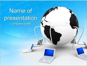 Шаблон презентации PowerPoint: Компьютерная сеть