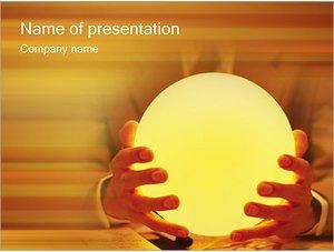Шаблон презентации PowerPoint: Магия и гадание