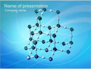 Шаблон презентации PowerPoint: Молекулы