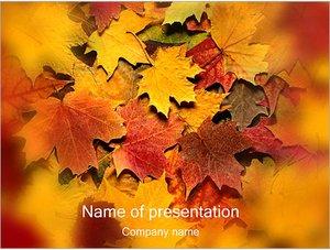 Шаблон презентации PowerPoint: Осень