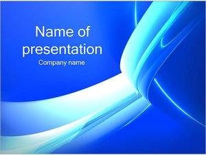 Шаблон презентации PowerPoint: Абстрактные ленты