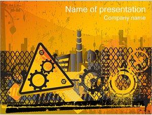 Шаблон презентации PowerPoint: Завод