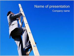 Шаблон презентации PowerPoint: Карьерный рост