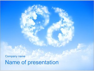 Шаблон презентации PowerPoint: Инь и янь