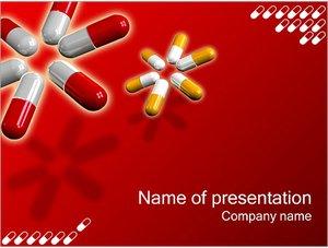 Шаблон презентации PowerPoint: Таблетки капсулы