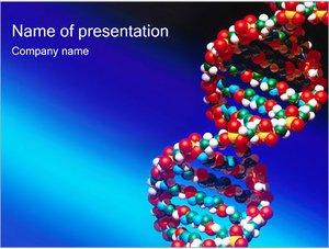 Шаблон презентации PowerPoint: Генетический код