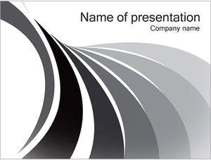 Шаблон презентации PowerPoint: Серые линии