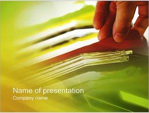 Шаблон презентации PowerPoint: Отчеты