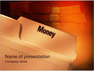 Шаблон презентации PowerPoint: Деньги
