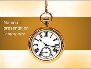 Шаблон презентации PowerPoint: Карманные часы