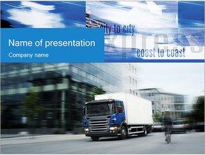 Шаблон презентации PowerPoint: Транспортные услуги