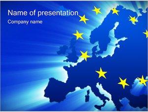 Шаблон презентации PowerPoint: Европейский союз
