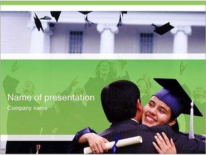 Шаблон презентации PowerPoint: Вручение диплома