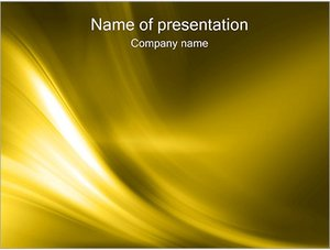 Шаблон презентации PowerPoint: Золото