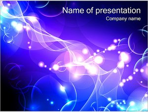 Шаблон презентации PowerPoint: Эквалайзер