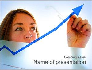 Шаблон презентации PowerPoint: Рост бизнеса