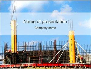 Шаблон презентации PowerPoint: Строительство