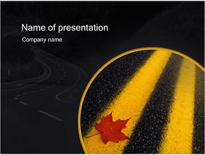 Шаблон презентации PowerPoint: Двойная сплошная