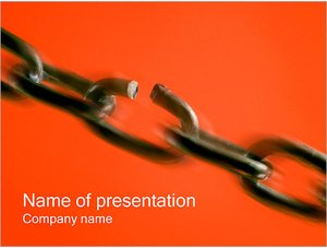 Шаблон презентации PowerPoint: Слабое звено в цепи
