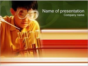 Шаблон презентации PowerPoint: Химия