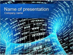 Шаблон презентации PowerPoint: Интернет