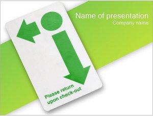 Шаблон презентации PowerPoint: Пропуск-карта