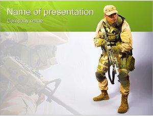 Шаблон презентации PowerPoint: Служба по контракту