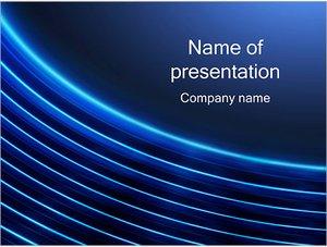 Шаблон презентации PowerPoint: Круговые волны