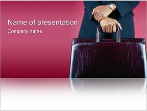 Шаблон презентации PowerPoint: Командировка