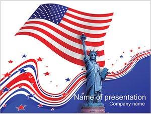 Шаблон презентации PowerPoint: День независимости