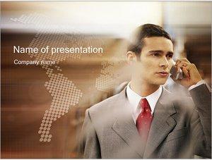 Шаблон презентации PowerPoint: Деловое общение