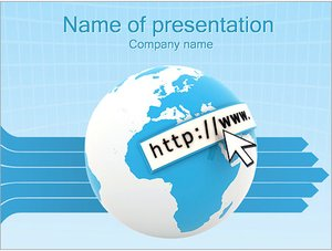 Шаблон презентации PowerPoint: Интернет сайты