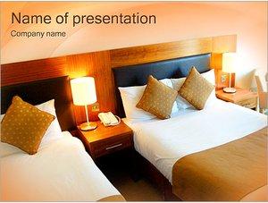 Шаблон презентации PowerPoint: Номер в гостинице