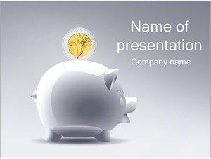 Шаблон презентации PowerPoint: Копилка хрюшка