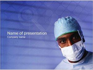 Шаблон презентации PowerPoint: Врач