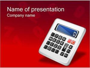 Шаблон презентации PowerPoint: Калькулятор