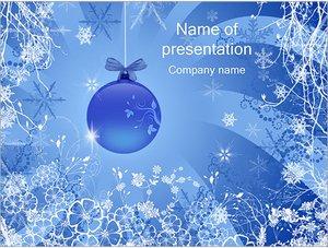 Шаблон презентации PowerPoint: Новогодние украшения