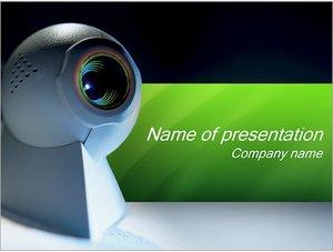Шаблон презентации PowerPoint: Веб-камера