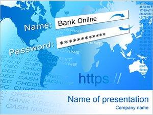 Шаблон презентации PowerPoint: Защищенное соединение