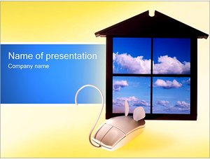 Шаблон презентации PowerPoint: Windows и мышь