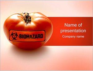 Шаблон презентации PowerPoint: ГМО помидор