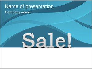 Шаблон презентации PowerPoint: Продажа