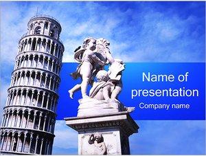Шаблон презентации PowerPoint: Пизанская башня