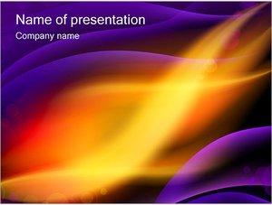 Шаблон презентации PowerPoint: Северное сияние